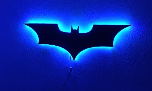 DC Comics Batman logo Batman Luz pared LED