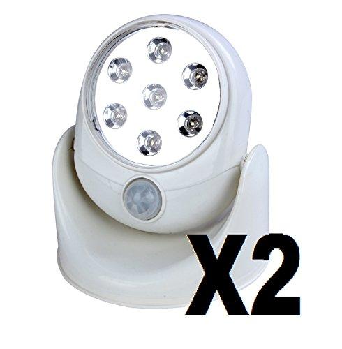 lot-x-2-lampes-7-led-rotation-360-dtecteurs-de-mouvement-trs-brillantes-sans-fil-exterieur-interieur