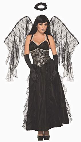 Forum Novelties AC80415 Gefallener Engel Kostüm, Größe M, Schwarz