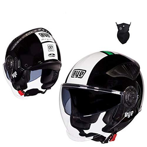 Uomini completo Flip Face moto casco doppia lente antivento donne moutain bike motocross tappi di sicurezza anti caduta Motocross Caschi adulti Racing tappi di protezione