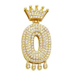 Damen Kette Zirkon Tropfen Krone Halskette Kette Necklaces Anhänger Geschenk Schmuck Jewelry Gliederkette Halsketten,Überraschungsgeschenk für Freundinnen Mädchen Männer Frauen