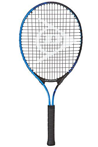 Dunlop, Racchetta da tennis Dnulop Force Team JNR 25, Nero (Schwarz/Blau), Taglia unica