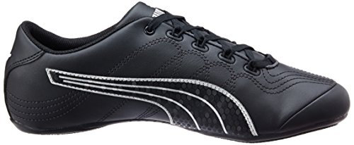 Puma  Soleil V2 Comfort Fun - Sneakers Basses - Femme Noir (Black/Puma Silver)