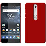 Shop Buzz Nokia 6.1 (2018) Back Cover Hard Back Case Cover For New Nokia 6.1 (2018)/Nokia 6 2018 (Wine Red)