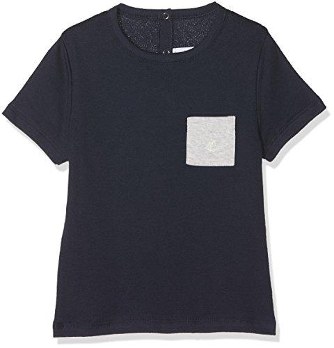 Petit Bateau Baby-Jungen T-Shirt Tee Shirt MC 28806, Blau (Smoking 84), 68 (Herstellergröße: 6m/67cm)