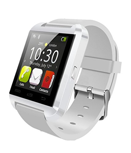 Xolo A1010 Compatible Bluetooth Smart Watch Phone (WHITE) With Touch Screen,Multilanguage,Android/Ios Mobile Phone Wrist Watch With Activity Trackers And Fitness & Supports Apps Like Facebook And Whatsapp by Mobile Link  available at amazon for Rs.799