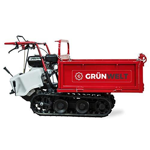 weima wm7b-320 6,5 ps 196 ccm raupendumper dumper minidumper kipper transport carriola motore 2 anni di garanzia