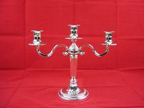 Fkduih Europäische Zinn Leuchter Leuchter Heimtextilien Dekoration aus hochwertigem Metall Leuchter Hochzeit, Candlelight Dinner, 3 (Candleabra Halloween)