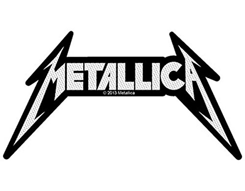 Metallica - Shaped Logo - Toppa/Patch