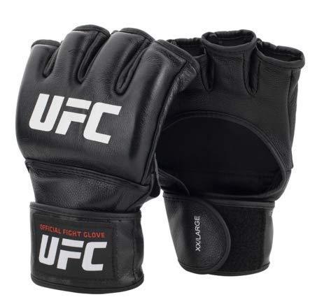 UFC Official PRO MMA - Guanti da Combattimento, Unisex, Nero, S