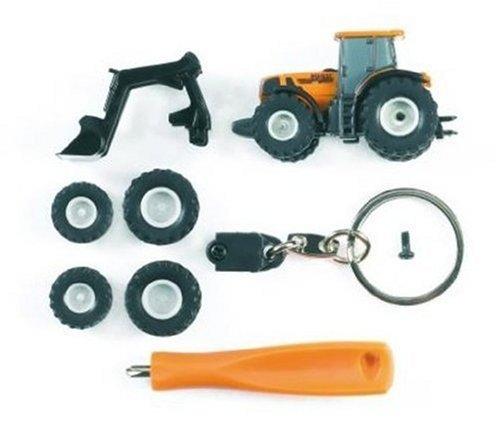 Renault Atles / Agriculture 936 RZ Mini-Serie 7-teilig mit Schlüsselanhänger - Traktor multifunctional - 1:128 - Bruder 00441