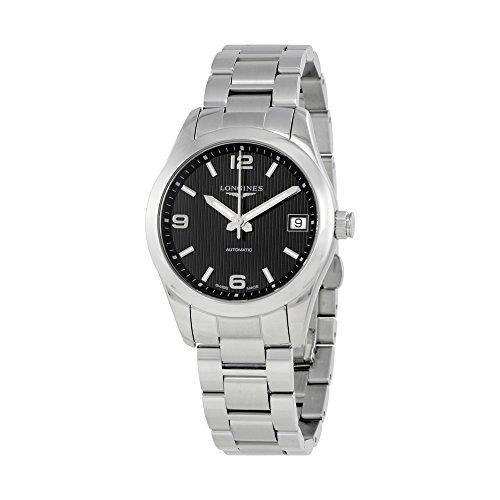 Longines Conquista Negro Dial Automático Damas Reloj l2.385.4.56.6