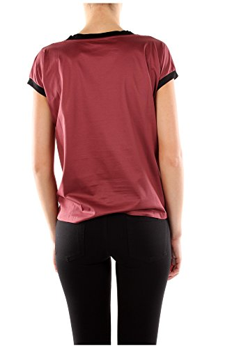 Baumwolle T Prada shirt Rot 135553amaranto Damen YnwHUIx667