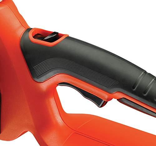 Black+Decker Li Ion Akku-Kettensäge 18V GKC1825L20 mit Akku und Ladegerät / Ideal für Holz- & Gartenarbeiten / 25 cm Schwertlänge - 13