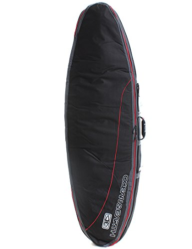 ocean-earth-double-compact-shortboard-surfboard-bag-10mm-7ft-2-black-red
