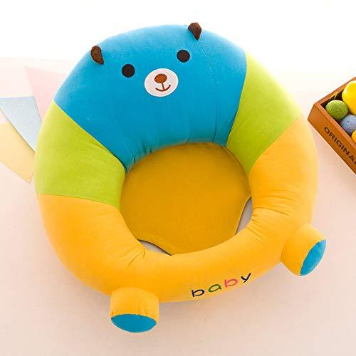LULU Baby Lerne Dich Zu Setzen Stuhl Säugling Sofa Sitz Sicherheitsstuhl Plüschtier Mutter Und Baby Geschenk,A