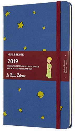 Moleskine 2019 Agenda Settimanale Le Petit Prince 12 Mesi, con Spazio per Note, in Edizione Limitata, Large, Blu di Anversa