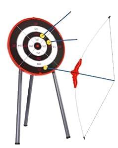 HUDORA Pfeil & Bogen Kinder Set - Bogen-Zielscheibe | Bogenschießen - 78115