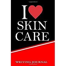I Love Skin Care writing journal