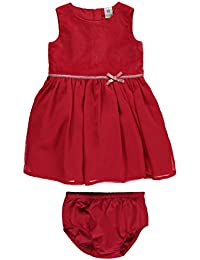 Carters Baby Girls Velveteen Dress 12 Months