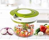 VPlus - Affettatrice a spirale a 3 lame, per alimenti, per coltelli da cucina e utensili