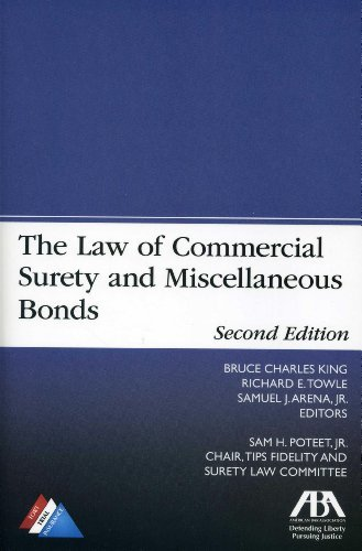 The Law of Commercial Surety and Miscellaneous Bonds by Samuel J., Jr. Arena (2013-12-07) Towle Bar