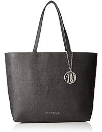 Armani Exchange Texturized Shoulder Bag, Cabas