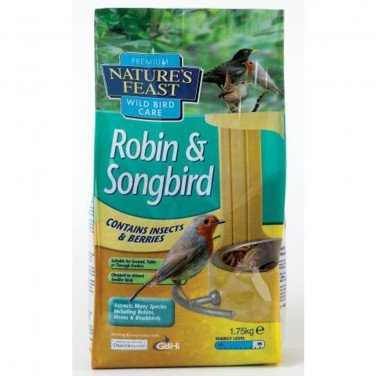 Natures Feast Robin & Songbird 1.75kg by Natures Feast
