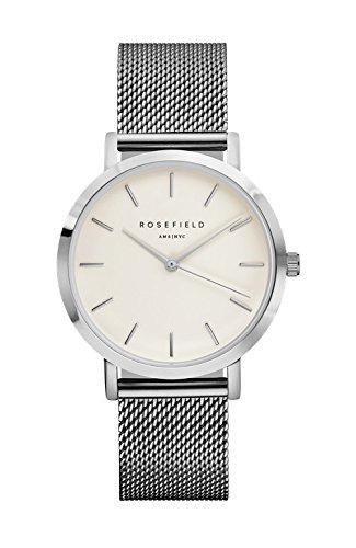 Rosefield Unisex-Uhr Digital mit Edelstahlarmband - MWS-M40 Tribeca Ring