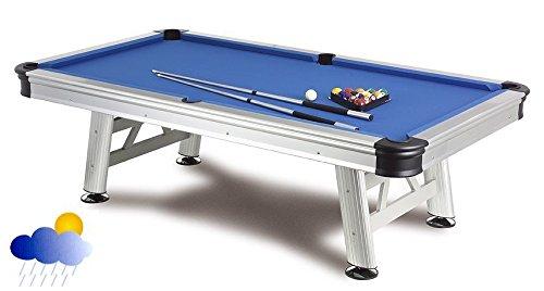 Da biliardo Outdoor Florida 7ft. con accessori, delle dimensioni assolutamente resistente alle intemperie tavolo da biliardo, 7ft.