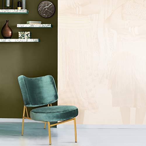 Tidyard Anchura x Profundidad x Altura Sof/á de jard/ín Gris de Madera Maciza de Pino Verde 110 x 66 x 65 cm