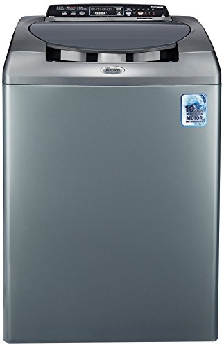 Whirlpool 8 kg Fully-Automatic Top Loading Washing Machine (Stainwash Ultra 80H, Graphite)