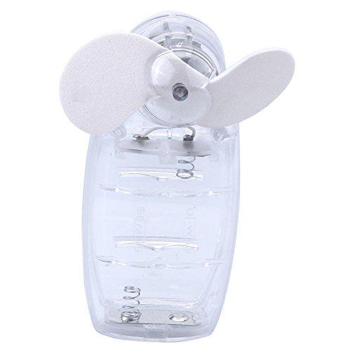 Phizhi®Leise Mini Handventilator Ventilatoren Lüfter mit Batterie Farbe,Weiß Kleine Klinge Deckenventilator