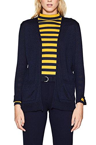 ESPRIT, Cardigan Donna Blu (Navy 5 404)