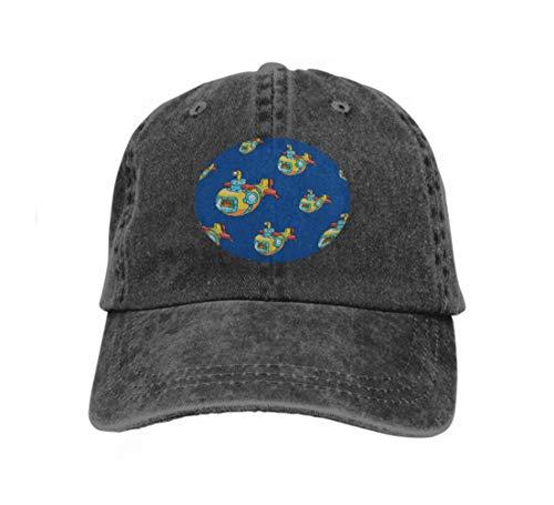 Submarine Kostüm Yellow - Xunulyn Baseball Cap Adjustable Athletic Custom Trendy Hat for Men and Women Yellow Submarine Hand Drawn sea Life Pattern Fervent