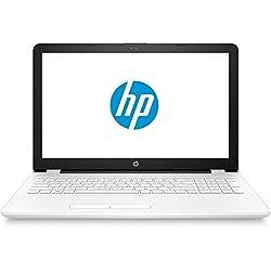 "HP 15-BW000NS - Ordenador portátil de 15.6"" (AMD Dual-Core E2-9000e, 4 GB de RAM, 500 GB de disco duro, Windows 10 Home) blanco nieve - teclado QWERTY español"