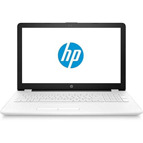 "HP 15-BW000NS - Ordenador portátil de 15.6"" (AMD Dual-Core E2-9000e, 4 GB de RAM, 500 GB de disco duro, Windows 10 Home) blanco nieve - teclado QWERTY español"