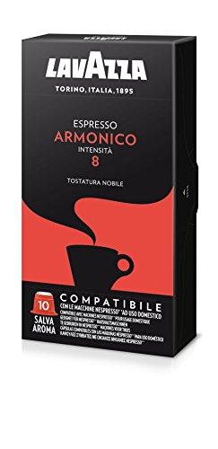Lavazza Cápsulas de café Armonico - Paquete de 5 x 10 cápsulas - Total 250 g