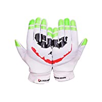 ‏‪LYCOS GEARS NFL Joker American Football Receiver Gloves (You Can't See me) Adult-Small‬‏