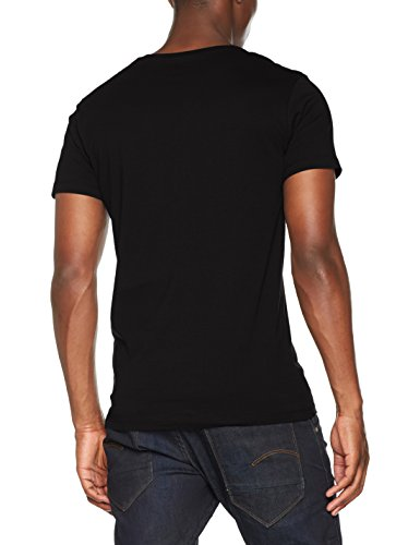ESPRIT Herren T-Shirt 997EE2K821, Schwarz (Black 001), XX-Large - 2