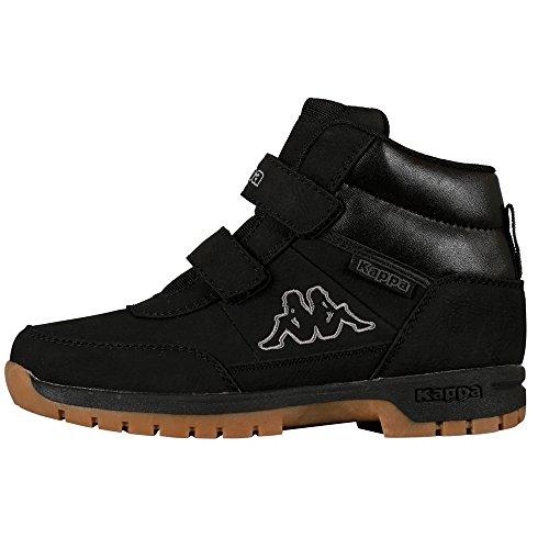 Kappa BRIGHT Unisex-Kinder Hohe Sneakers, Schwarz (Black 1111), 31 EU
