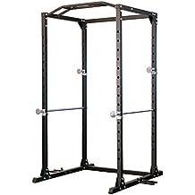 Profi Power Rack newfitness® NE700, ultrastabile Konstruktion, feines Finish, bis 300 kg belastbar lt. Werksangabe, erweiterbar um Latzugstation NE700LA und Dip Trainer NE700D