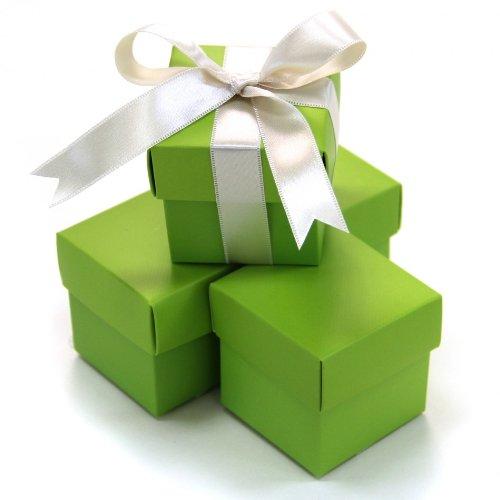 henkboxen, quadratisch, 50 Stück, Limettengrün ()
