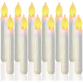 40PcsLED Christmas tree candles Wireless Flameless Flickering clip-on,TUV Listed