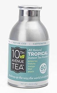 10th Avenue Tea Instant Tropical Green Tea Powder