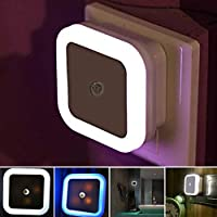 Perfect for bedroom, bathroom, hallways, kitchen, living room, balcony, warehouse, dark staircases, whether indoors or outdoors where you need them.The multi-function night light will bring you more convenience.