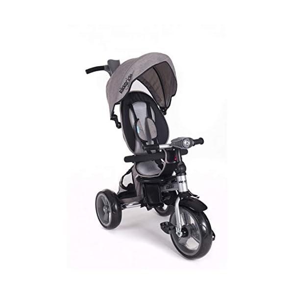 Kikka Boo 31006020043 Sports Trolley Kikka Boo KIKKA BOO strollers and strollers Sports prams and strollers for unisex children. Nikki Tricycle Melagne Grey (31006020043) 1