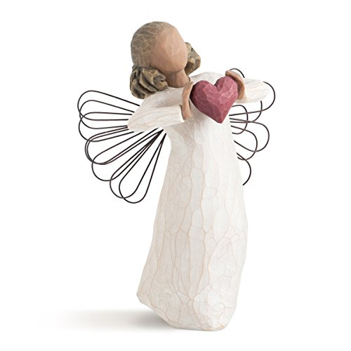 Willow Tree 26182 Engel der Liebe, 3,8 x 3,8 x 14 cm, Natur