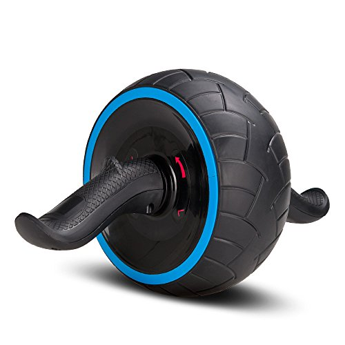 Covvy Abs Carver Pro Roller Ab-Roller Rad Trainer Pro Bauch Magen Übung Training Fitnessgeräte (Blau)
