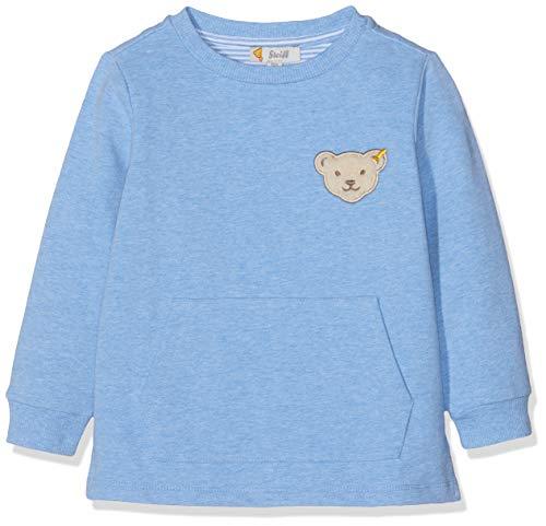 Steiff Baby-Jungen Sweatshirt, Blau (Marina 6026), Herstellergröße:86 Kinder Sweatshirt Marine